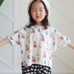 Yahoo!aaahouse子供服 可愛い 送料無料  韓国子供服 春新商品 ジュースTシャツ お揃いコーデ 90cm/100cm/110cm/120cm/130cm