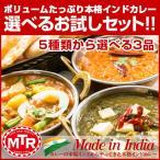 送料無料 MTR 本場インドの レトルト カレー 300g 3食 お試し カレー 送料無料 非常食
