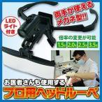 送料無料 お医者さんも使用するプロ用ヘッドルーペ(RX-4900LED)