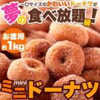 ネット販売限定商品 みんな大好き!一口サイズのドーナツが夢の食べ放題級!!ミニドーナツ1kg(250g×4袋)