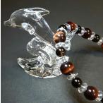 パワーストーン 数珠 誕生石  ブレスレット レッドタイガーアイ スモーキークォーツ 平珠水晶