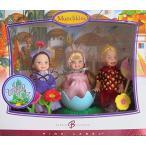 バービーBARBIE Wizard of Oz MUNCHKINS KELLY & TOMMY Collector DOLLS w 3 MUNCHKIN (Lollipop TOMMY, BALLERINA & GIRL Vil..