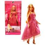 バービーMattel Year 2007 Barbie Fashion Fever Series 12 Inch Tall Doll Set - BARBIE (L3324) in Elegant Pink Dress with Fishnet