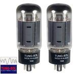 真空管Brand New Tung-Sol Reissue 7581A KT66 Current Matched Pair (2) Vacuum Tubes