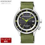 CITIZEN シチズン INDEPENDENT インディペンデント Timeless line タイムレス ライン NATOバンド ソーラー電波 メンズ腕時計 KL8-619-52