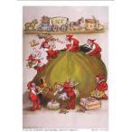 ABCクラフトオリジナル シャドープリント 「楽しいクリスマス」amc-107