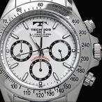 メンズウオッチ TECHNOS/テクノス/ クロノグラフ 腕時計 TGM615SW