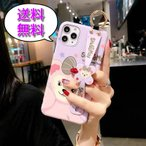 iPhone11ケース シェリーメイ(ディズニー) 動画視聴にも便利なハンドストラップ付のかわいいケースです!