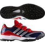 【アディダス】 アディピュアTR 野球シューズ/BASEBALL/adidas (GUB62) CG4558 カレッジネイビー/シルバーメット/パワーレッド