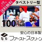 プロジェクタースクリーン 100インチ (16:9) タペストリー式 HS-100W 日本製