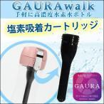 水素水ボトル GAURAwalk (ガウラウォーク) 水素水生成器【専用交換用塩素吸着カートリッジ】