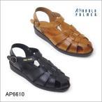 涼鞋 - メンズ 本革 サンダル アーノルドパーマー  オフィスサンダル 仕事 サンダル 黒/ap6610 送料無料