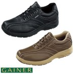 靴 スニーカー メンズ ゲイナー003 ウォーキングシューズ 4E ストレッチ ジッパー付き ktgn003 送料無料