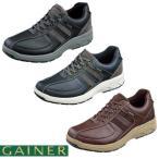 靴 スニーカー メンズ ゲイナー003 ウォーキングシューズ 4E ストレッチ ジッパー付き ktgn012 送料無料