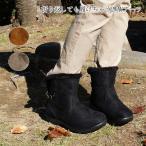 ショートブーツ レディース ローヒール くしゅくしゅ 秋冬 歩きやすい 2WAY 折り返 ファー ボア 黒 ブラウン 軽量 ngpa551 送料無料