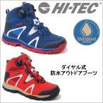 HI-TEC ハイテック トレッキング ブーツ アウトドア シューズ メンズ 登山靴 ハイキング 防水 ダイアル 3E ハイカット tmhttrm723 送料無料