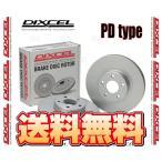 DIXCEL ディクセル PD type ローター (前後セット) MINI (ミニ クーパー) MF16/SU16 (R56) 07/2〜14/4 (1211427/1251126-PD
