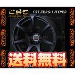 DOALL ドゥオール CST ZERO-1 HYPER (フラットブラック) 9.5J x 17インチ インセット +15 PCD114.3-5H 2本セット (CSTH-951715-BK-2S