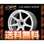 DOALL ドゥオール CST ZERO-1 HYPER (ホワイト) 9.5J x 17インチ インセット +15 PCD114.3-5H 2本セット (CSTH-951715-WH-2S