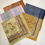 ANOKHI(アノキ) 木版染め大判スカーフ 全5種類