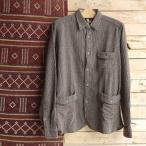 DNL Italy ウールシャツジャケット ブラウン