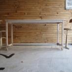 アンティーク ホワイトペイントテーブル 175cm