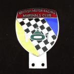 カーバッチ ブリティッシュモーターレーシング マーシャルズクラブ グリルバッジ