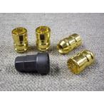 ロックナットSET・1/2クローズゴールド全長34mm/優良社外