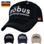 (モーブス)mobus メンズ スポーツ キャップ 2段 ビッグ ロゴ 刺繍 コットン ツイル 251M06-B