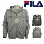 (フィラ)FILA メンズ フード パーカー 長袖 スウェット ジップ アップ 裏毛 温感加工 FH1033
