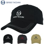(セルジオタッキーニ)SERGIO TACCHINI メンズ コットン ツイル ロゴ 刺繍 スポーツ キャップ SGC-75000