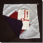 ふくさ 袱紗 結婚式 香典 慶弔 金封 紫 台付き