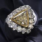 戒指 - Pt900/K18 ダイヤモンド メンズリング 18号 現品限り