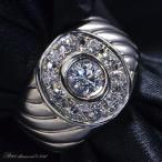 ダイヤモンド メンズリング 指輪 Pt900 プラチナ