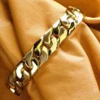 喜平 ブレスレット 24金 メンズ 純金 K24ゴールド 79g 20cm 12mm幅 キヘイ