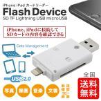 iPhone iPad SDカードリーダライタ i-Flash Device HD SD USB