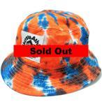 """【セール】【Milkcrate Athletics/ミルクレートアスレティックス】 """"Tie-Dye Bucket Hat/バケットハット"""