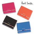 ポールスミス 財布 レディース 折り財布 ペタルプリントトリム 三つ折り財布 PWD513 Paul Smith ladies ウォレット