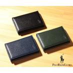 ラルフローレン 財布 メンズ エンボスENBOSS カードケース[P-1060 Orin](Polo Ralph Lauren)【名刺入れ メンズ ギフト】