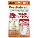 Yahoo!ドラッグ 青空【アサヒフード】 ディアナチュラスタイル(Dear-Natura)  鉄×マルチビタミン 20粒入り (20日分)