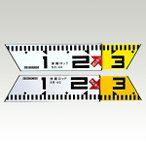 ハイビスカス 伸縮ロッド SR-180 長さ97-180cm 内径計測 測量 土木 建築工事 証明写真