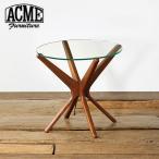 ACME Furniture アクメファニチャー TRESTLES SIDE TABLE 50cm CLEAR テーブル