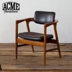 ACME Furniture アクメファニチャー WARNER ARM CHAIR BLACK ワーナー ダイニングチェア ブラック アームチェア