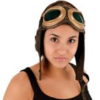 ハロウィングッズアクセサリーパイロットの帽子コスプレパイロットハロウィン雑貨