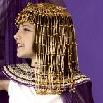 ハロウィン 衣装 コスチューム クレオパトラ ビーズのヘッドピース コスプレグッズハロウィン 衣装・コスチューム