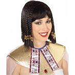 ハロウィンエジプトクレオパトラベリーダンスナイルの女王デラックスクレオパトラウィッグ大人用コスプレグッズ歴史十字ナイトミュージアム