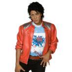 ハロウィン マイケルジャクソン 衣装 Beat it ジャケット 大人用 コスチューム マイケルジャクソン/衣装 シルクドソレイユ