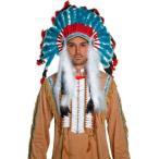 インディアン衣装ハロウィンコスプレハロウィーンインディアン羽飾り大人用羽根飾り