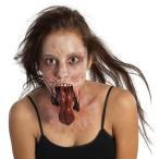 ハロウィン ゾンビメイク 仮装 裂けた口 ラテックス製特殊メイクキット 大人用