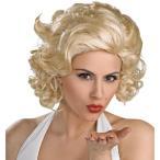 ハロウィン芸能人芸人タレント歌手マリリン・モンロー紳士は金髪がお好きデラックスウィッグ大人用